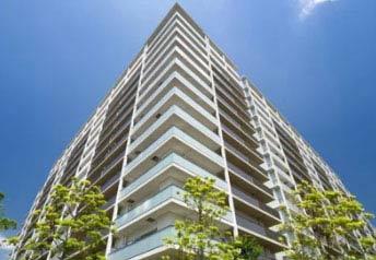 高層タワーマンション22階角部屋